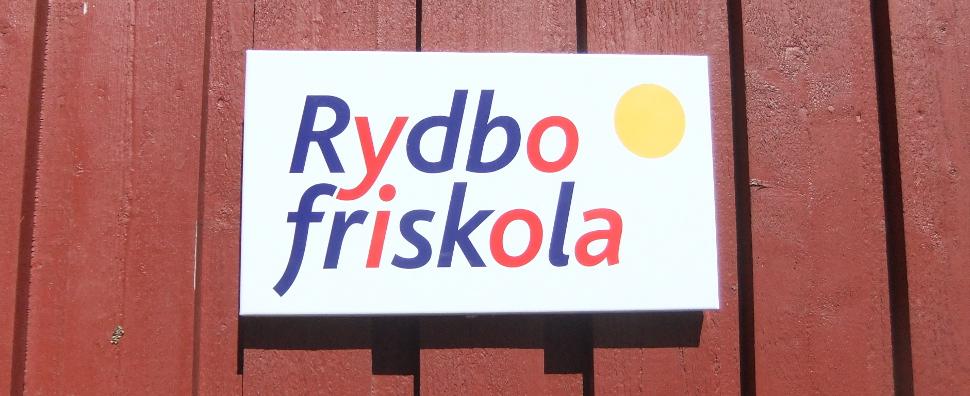 Rydbo Friskola skylt